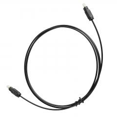 5FT 1.5M Toslink SPDIF Optical Cable Digital Fiber DVD CD DTS Audio Connector Cord