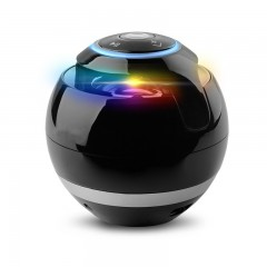 Portable Five Color Round Ball Light Bluetooth Audio Box Outdoor Card Free Call Mini BluetoothUH