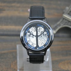 Creative Intelligent Watch Touch Screen Real Waterproofing LED Noctilucent Lovers Watch StudenrG