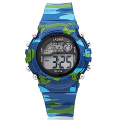 Camouflage Sports Students Electronic Watch Boys Watch Girl Boys And Girls Boy Alarm LED Nightsc