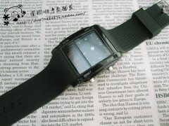 Exquisite Atmosphere LCD Ultra Bright Night Light Watch Korean Version Of Silica Gel Sports TaGx