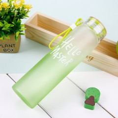 My Water Bottle Water Drinking Bottle Fashion Multi Color Popular Glass Water bottles Readily Bottle With Lid Free BPA