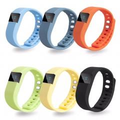 Smart Digital LCD Wirstband Run Step Walking Distance Calorie Counter  Sport Fitness Wrist Watch Black