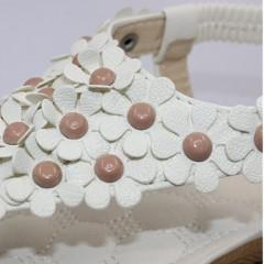 Women Platform Wedge Sandals 2018 Summer Leisure Platform Sandals Comfortable Woman Shoes 668W Beige 5