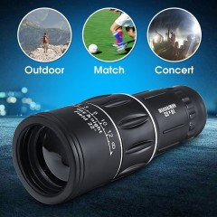16x52 Zoom Mobile Phone Lenses Universal Telescope Camera Monocular Telescope for iPhone Samsung
