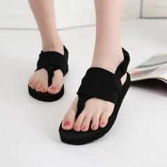 2018 New Women Shoes Flip Flops Breathable Flip Flops Summer Bohemian Style Women Cloth Belt Flip Flops Women Shoes