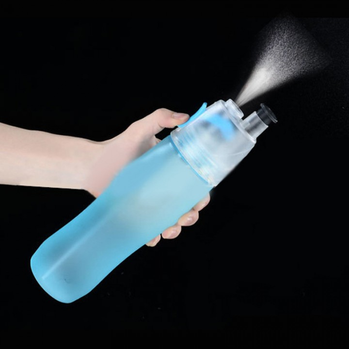 740ml Cycling Running Water Drinking Bottle Water Bottle Misting Spray Healthy Sports Bottles