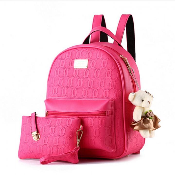 9e67e15164 NEW Fashion Backpack Women Backpack Leather School Bag Women Casual ...