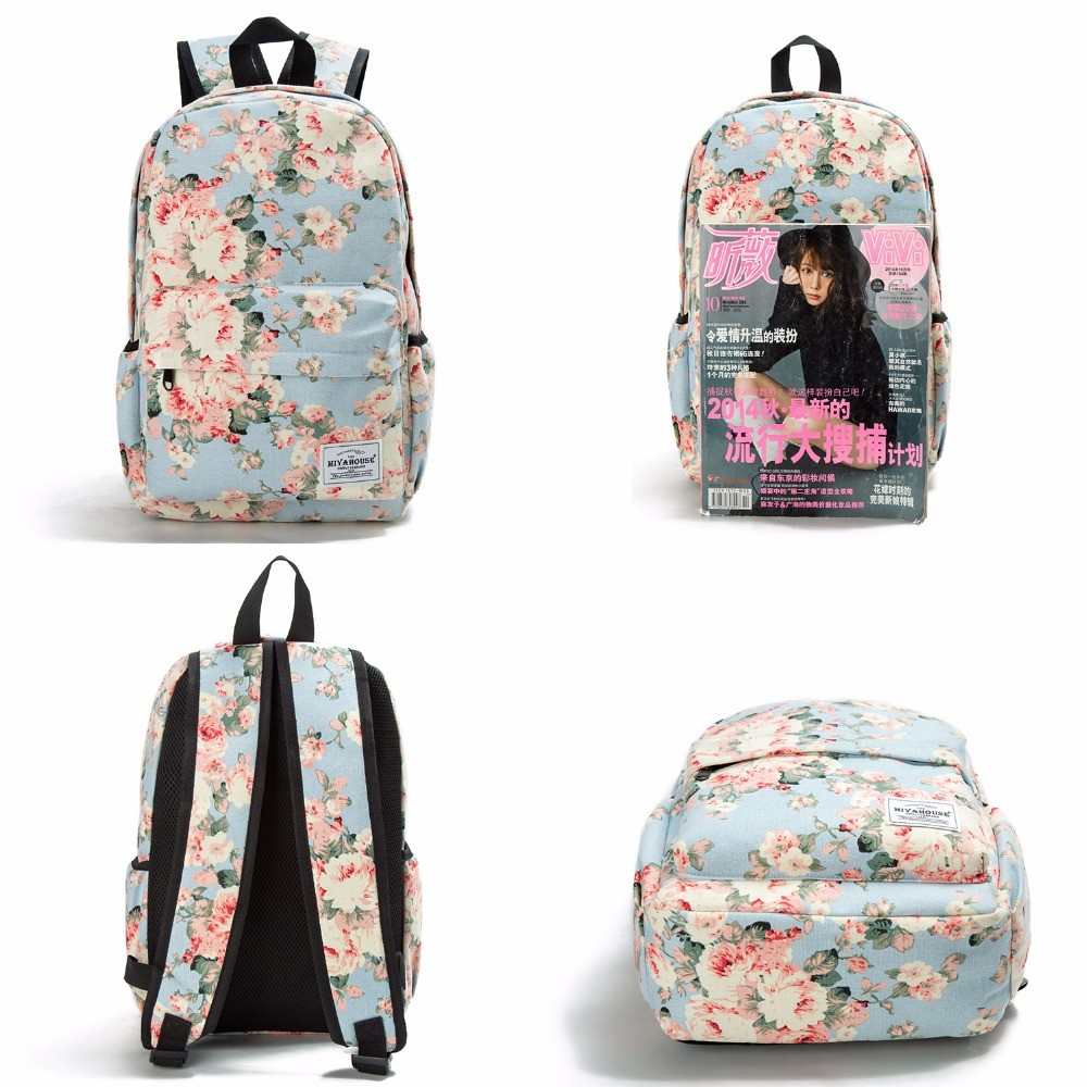 b15b14d462f0 Item specifics  Seller SKU lkuwD  Brand  Women Canvas Backpacks For Teenage  Girls ...