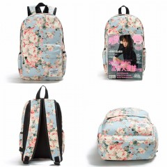 Women Canvas Backpacks For Teenage Girls Travel Rucksack Fashion Floral Printing Backpack Women 1037b