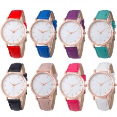 Hot Sale Saat Clock Watches Women brand Fashion dress ladies Watches Leather Stainless women Steel Analog Luxury Wrist Watch