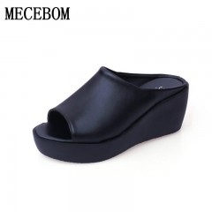 New 2018 Fashion Flip Flops Women Beach Slippers Summer Gladiator Sandals Women Casual Shoes Woman 6024W white 5