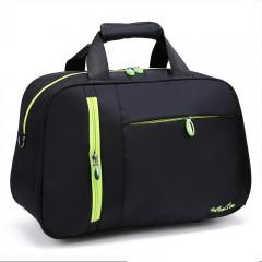 New Arrival Waterproof Women Travel Bags Nylon Casual Luggage Tote Bag Men PortableTravel Duffle B black193
