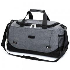 New Travel Bag Large Capacity Men Hand Luggage Travel Duffle Bags Nylon Weekend Bags Multif gray 51*23*27cm