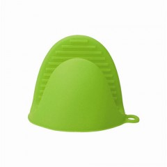 Heat Insulation Microwave Hot Set Protective Hand Clip Heat Resistant Silicone Glove Kitchen Tools Green175