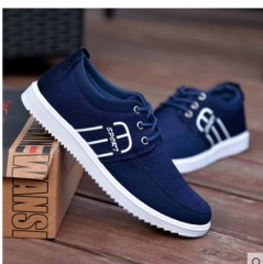 2016Hot new Spring summer men canvas shoes trend lace up Casual shoes Fashion breathable men shoes picture colors173 7