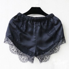 Summer New Hot 2017 Fashion Black/White Free Size Women Girl Elastic Casual Shorts High Waist Lace