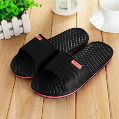 Men Shoes Solid Flat Bath Slippers Summer Sandals Indoor &amp Outdoor Slippers Casual Men Non-Slip