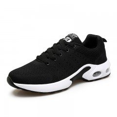 ALLMALL men running shoes sports for men cushioning breathable shoes gym sport male sneakers men Black193 7
