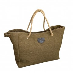 Hot Sale New Female Package Korean Fashion Simple Casual Canvas Shoulder Bag Lady Diagonal Package Khaki200001438