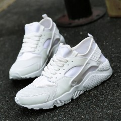 New Gym Shoes For Men Breathable Mens Shoes Sneakers Sport White Black Designer Sneakers White29 6.5
