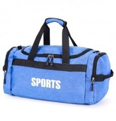 Canvas Foldable Men Travel Bags Weekend Large Capacity Unisex Luggage Travel Handbags T552 blue193