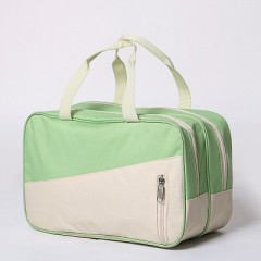 Fashion Oxford Wet And Dry Separation Travel Bags Women Men Large Capacity Portable Luggage Packin