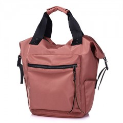 2018 Nylon girls Backpack Women Casual Backpacks Ladies High Capacity Back To School Bag Teenage Red771 one size