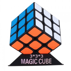 Magico 3x3x3  Cube Profissional Competition Speed Cube Puzzle Fidget  Cool Toys For Children Adult black one siza
