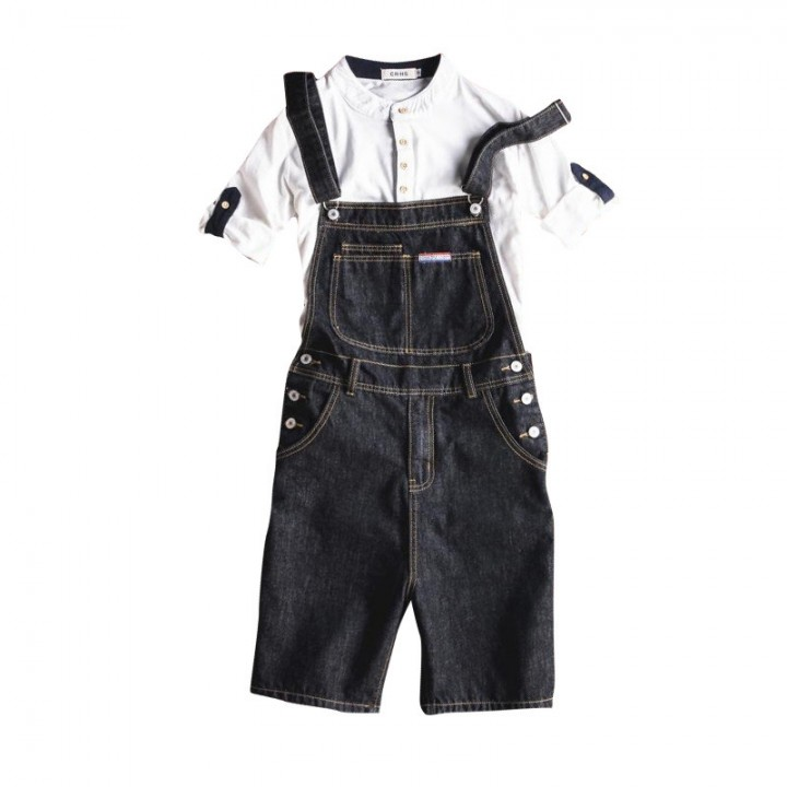 Mens Fashion Cargo Skinny Pants Suspender Trousers Casual Overalls Jeans Pants