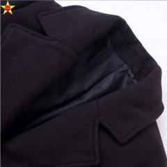 Plus Size Casual Women Wool Coat 2018 Winter Fashion Loose Elegant Jacket Single Breasted Extra Black193 L