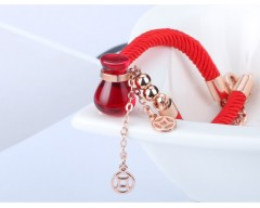 Hot Fashion Sale Crystal from Swarovski Shape Crystal gourd red rope bracelet Fit Women and femal Red free