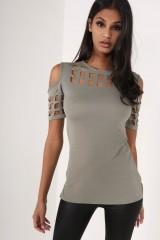 Summer Blusas Sexy Shirts Slim Hollow Out Shirts Plus Size Block Cold Shoulder Blouse Slim Blusa Gray691 l