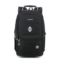 new Nylonk portable handbag travel high capacity backpack Bag For HUAWEI HP ASUS 18 18.4 Notebook Black193