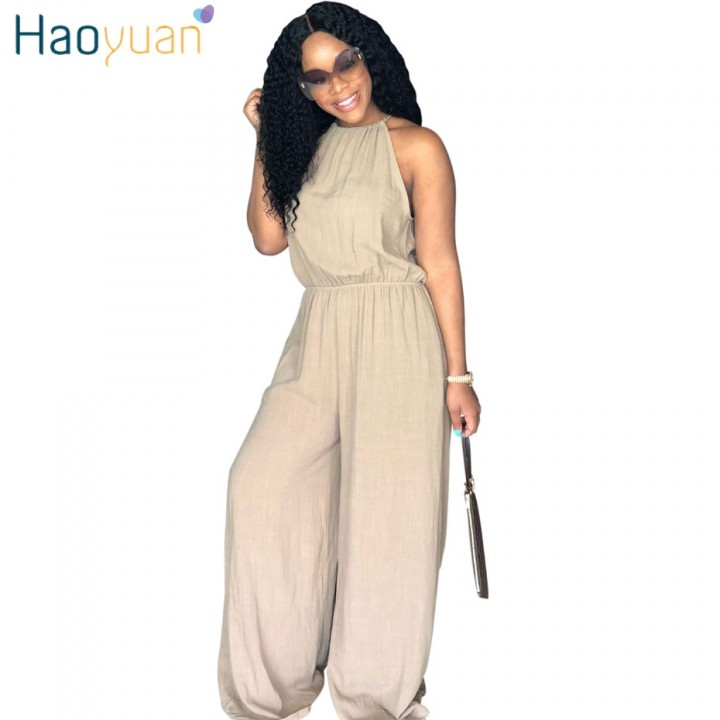 25aa35521c62 Plus Size Off Shoulder Rompers Womens Jumpsuit Casual Summer Overalls One  Piece Outfit Loose Halt