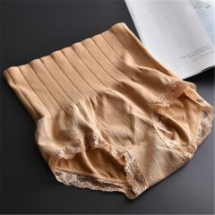 Waist Briefs Body Shapers Slimming Shapewear Tummy Control Panties Knicker Body Shapers for 50-75 BROWN365458 ONE SIZE
