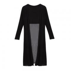 Maxi Cardigan Feminino Sweater Oversized Coat Women Knitted Long Sleeve Vintage Sweaters New Arri