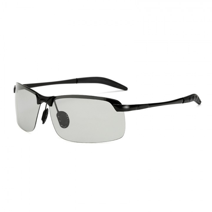 a449452193b 3043 Photochromic Sunglasses Men Polarized Chameleon Discoloration Sun  glasses Mens Rimless Day N