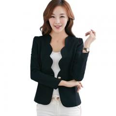 Color Fashion Sexy Women Casual Ladies Blazers Female Business Slim Suit Jacket Coat Business193 L