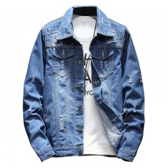 2018 M-5XL Men Jean Jacket Clothing Denim Jacket Fashion Mens Jeans Jacket Thin Spring Outwear Ma 3840173 M