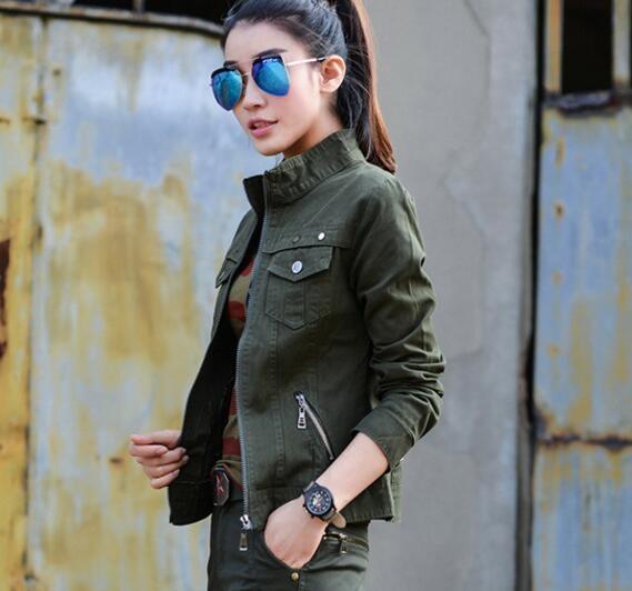 60c60e36d5c Item specifics  Seller SKU HiSNmVTFyI  Brand  Bomber Military Jacket Women  Fashion 2017 Spring Autumn Vintage Coats Jaqueta Feminina ...
