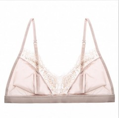 Sexy Floral Lace Bra Adjusted Straps Silk Women Lingerie Comfortable breathable Bralette Ultra-Th