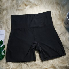 Women BoyShorts Pants Seamless Ice Silk Panties Female High Waist Seamless Anti Emptied Safety Gi