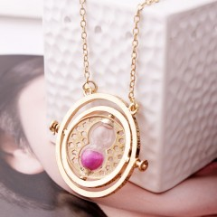 Rotating Horcrux Harry Potter Time Turner Necklace Time Converter Time Pendant Necklace For Woman YH-1361181