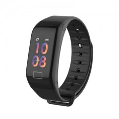 Fitness Tracker Color Screen Sport Smart Bracelet Call Reminder Step Pulse Heart Rate Monitorfitbits black193