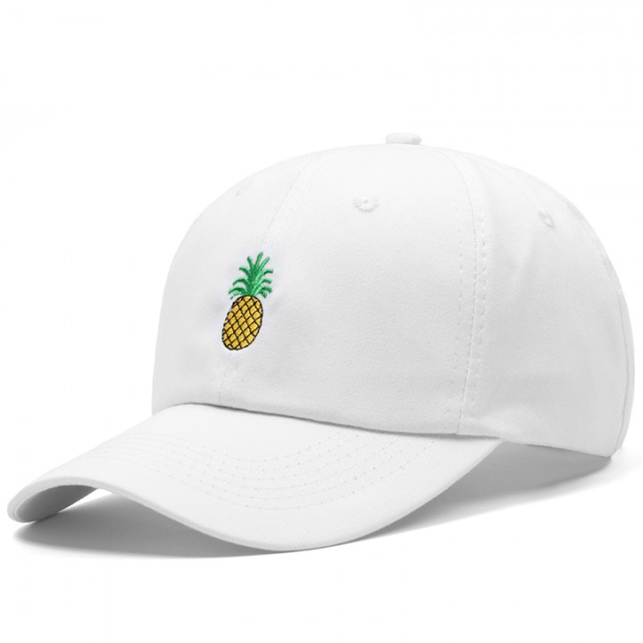 a75f3e5258609 Shipping Men Women Pineapple Dad Hat Embroidered Baseball Cap Polo Style  Unconstructed Fashion Un