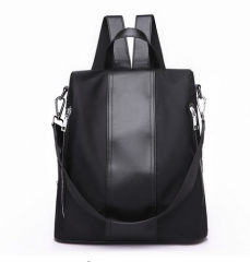 SUNSHINE New Design Women Backpack Female Nylon Backpack Fashion Girls School Bag Lady Oxford Bag black193