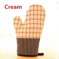 2PCS candy color thicken cotton gloves Kitchen Cooking Microwave Oven Mitts Insulated Non-slip Glo