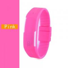 LED Digital Watch Electronic Wristwatches Korean Lovers Men Women Watches Creative Calendar Colorf