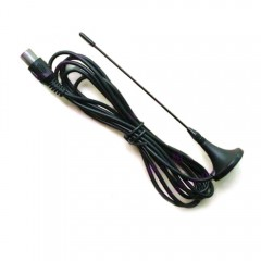 174-230MHz 5dbi DVB-T antenna Suction Antenna Magnetic base 1.5m extension cable TV aerial